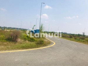Facing Park Kanal Plot For Sale In DHA Phase 8