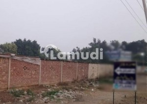 8 Kanal High Rise Commercial Plot on the Most Prime Location of Main Bedian Road