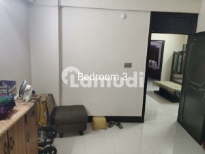 Karachi Cannt 3 Bedrooms Apartment Available For Sale