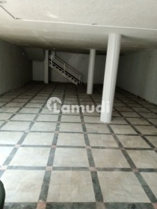 10 Marla Basement Hall With Washroom Available For Office Rent