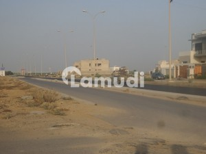 Magnificent Place 600 Yard Residential Plot For Sel On Pstreet Of Phase 6