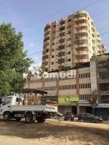 North Way Tower 9th Floor Flat For Sale In North Karachi - Sector 11A
