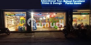 Showroom Shop  For Sale Main Peco Road Near Kot Lakhpath Railway Station