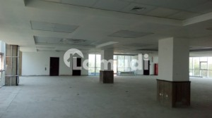 10000 SQ FT Brand New Corporate Building Floor with Big Halls and parking on a very good location is available for Rent
