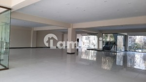 15000 SQ FT Brand New Building with Big Halls and parking on a very good location is available for Rent