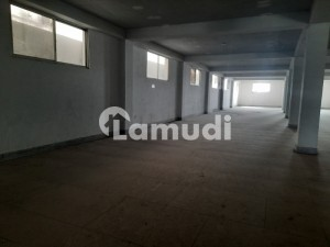 Factory 34000 Sqft Covered With 50kva Electricity Connection Vacant For Rent At Ferozepure Road