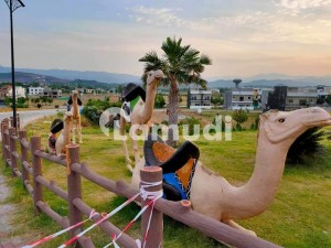 ideal location Ten marla double category Boulevard  corner plot for sale in bahria enclave Islamabad sector c1 extension