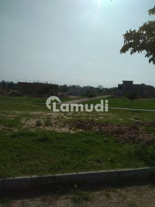 10 Marla Park Face Plot Available For Sale In B Block