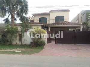Faisal Rasool Design Slightly Used 1 Kanal Bungalow For Sale