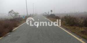 One Kanal Plot For Sale On Cash Payment Back Of 100 Feet Road