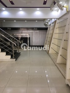Commercial Ground Floor Shop Available For Brands Near Emporium Johar Town