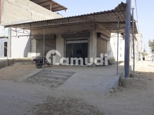 Beautifully Constructed Shop Is Available For Rent In Korangi