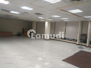 4000 Sq Ft Space Available For Rent In F-7 Markaz