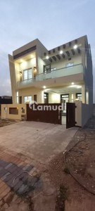 Ideal Location 8 Marla Double Unit Brand New Park Face House For Sale In Bahria Enclave Islamabad Sector N