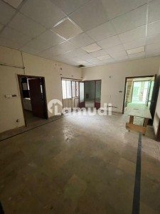 10 Marla Lower Portion Available For Rent In Gulberg Main Market near Gulberg Arcade.