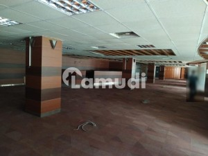 Fully Furnished Commercial Office Space Measuring 1777 Square Yard Covering The Entire 3rd Floor Of Asia Pacific Trade Centre Main Rashid Minhas Road Next To Askari 4 Opposite Millennium Mall Is Available For Rent