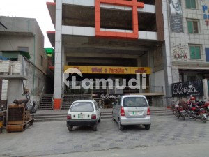 Independent Plaza on Rent for Clinic and Display and Art Gallery at Main Boulevard Kohinoor City