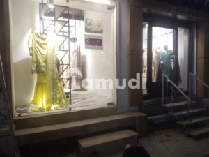 Rented Out Shop For Sale In Zamzama Commercial