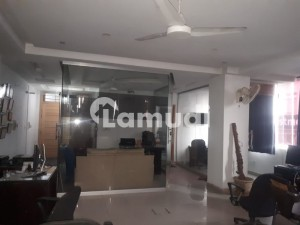 900 Sqft Corner Pindi Face Fully Furnished Office Is Available For Rent At Prime Location Of G_11 Markaz