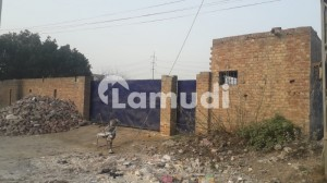 4 Kanal Industrial Land With Boundary Wall