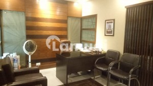 Furnished Office Space 1020 Sqft Front Entrance Available For Sale IN Dha Small shahbaz Comm