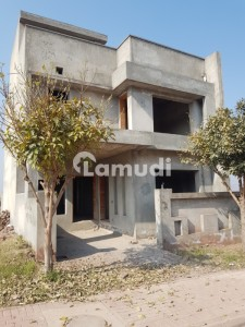 5 Marla Solid Constructed Grey Structure For Sale