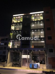 Brand New 200 Square Yards Ground Plus 4 With Basement Complete Finished Building With Moderate Glass Elevation On Prime Location Of Big Bukhari Commercial Lane 3 Is Available For Sale On Reasonable Demand