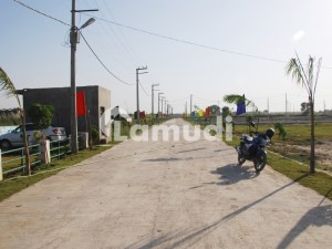 1 KANAL PLOT FOR SALE IN DHA PLOT NO 424X hot location paper on hand