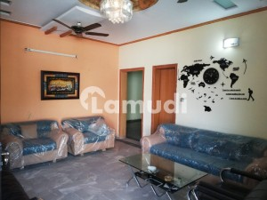 Fully Furnished Ground Portion Available For Rent In Gated Society Near T Chowk