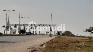 Mumtaz City 8 Marla 30X60 Plot For Sale In  chanab Block  Fully Developed Ready For Contractions