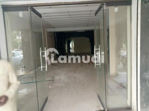 Stunning Shop Is Available For Rent In Gulberg