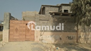 Main Road Corner West Open & Leased House For Sale Behind Naya Nazimabad