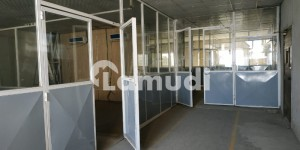 I9 5000 Sq Ft Beautiful Office with Rooms and AC is available for Rent