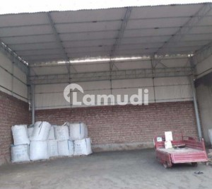One Kanal Warehouse Available With Almost 40 Feet Steel Shade