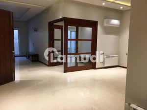 F7 666 SQ YD Brand New Lower Ground Fully Furnished Portion 3 bed Rooms AC and Heating System Installed is available for Rent