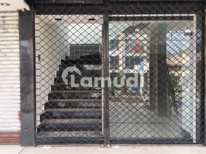 F-6 Markaz Shop Ground Floor 960 Sq.ft Is Available For Rent.