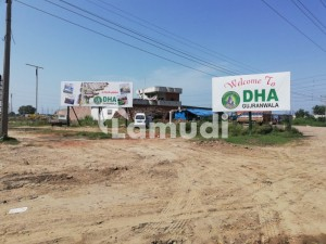 1 Kanal Plot For Sale In Dha Gujranwala(phase-i)