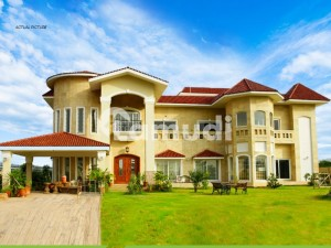5 Kanal Developed Possession Main Road Farmhouse For Sale In D Block Gulberg Greens Islamabad