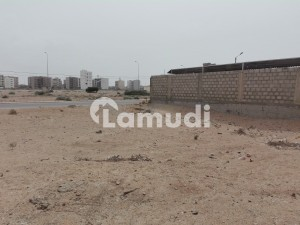 Plot For Sale Urgent 500 Yard West Open Beach Street No 15 Most Beautiful Location  In DHA  phase 8