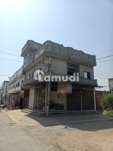 House With 3 Shops Is Available For Sale
