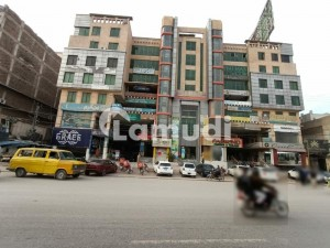 3 Shops For Sale On Main University Road Arbab Road Stop.
