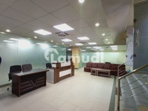 G_10 Markaz 3500 Square Feet Semi Furnished 2nd Floor Space Available For Rent