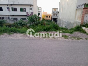 5 Marla Plot For Sale In National Police Foundation O-9