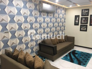 1 Bed Fully Furnished Flat For Rent In Sector D Surahi Chowk Bharia Town Lahore