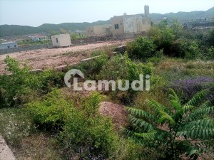 Centrally Located Residential Plot In Bani Gala Is Available For Sale