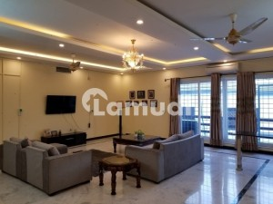 Well Furnished House For Rent In F-7 Islamabad