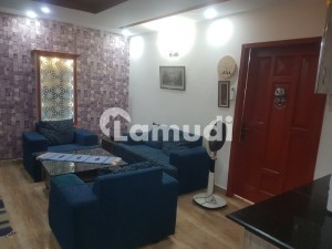 ONE BED FAMILY APARTMENT FULLY LUXURY FURNISHED AVAILABLE FOR RENT IN BAHRIA TOWN LAHORE