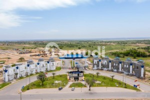 7 Marla Cost Of Land Clear Plot For Sale In Blue World City Overseas Block
