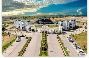 10 Marla Cost Of Land Clear Residential Plot For Sale In Blue World City Overseas Block