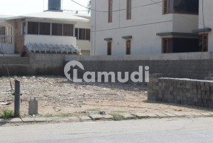 500 yards residential plot for sell on khy Bukhari corner west open at prime location